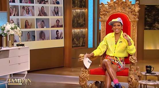 """Tamron Hall Celebrating the 30th Anniversary of """"The Fresh Prince of Bel-Air"""""""
