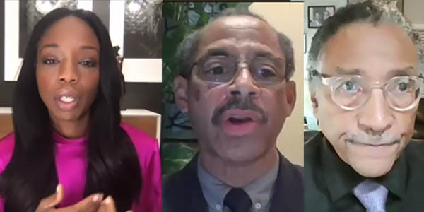 Left to Right: Dr. Nadine Burke-Harris California Surgeon General; Dr Rodney Hood M.D. and Dr Rodney Hood M.D.;
