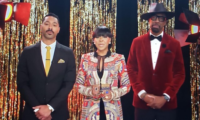 Co-hosts Tone Bell, Tichina Arnold and J.B. Smoove