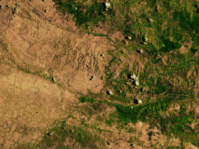 Deforestation in Haiti Photo courtesy from NASA under Creative Commons Attribution-ShareAlike License