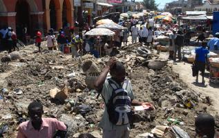 Street in Port Au Prince, Haiti
