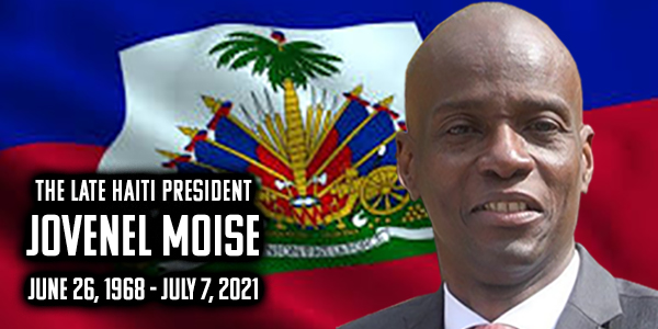 President Jovenel Moise served as president of Haiti February 7, 2017 and was assassinated on July 7, 2021