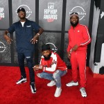 (L-R) D.C. Young Fly, Chico Bean and Karlous Miller of 85 South